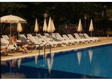 Открытый бассейн| Отель  «ALEAN FAMILY RESORT & SPA SPUTNIK / Спутник Сочи»