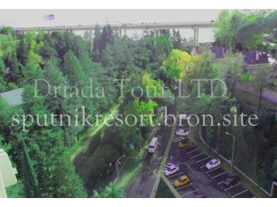 Отель  «ALEAN FAMILY RESORT & SPA SPUTNIK / Спутник Сочи»   - территория