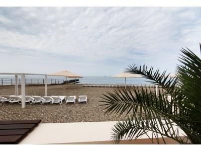 Отель  «ALEAN FAMILY RESORT & SPA SPUTNIK / Спутник Сочи»  , пляж
